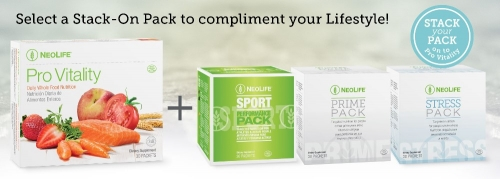 Stack your Pack on to Pro Vitality – From NeoLife!